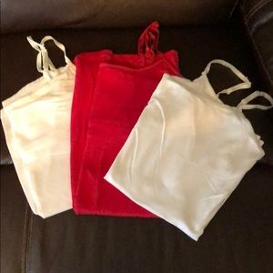 Lot of 3 tank tops size Large